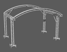3D Prolyte truss Arc roof 6x4m