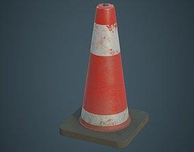 Traffic Cone 5B 3D model