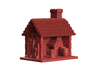 Blacksmith House 3D printable model