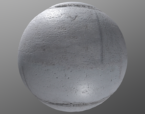 3D model PBR Concrete 3 - 8K Seamless Texture