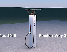3D Ionity electric vehicle charger