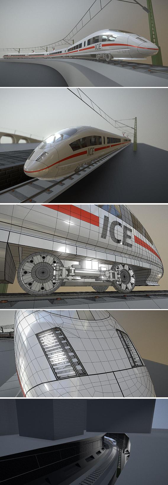ICE 3 Bullet Train