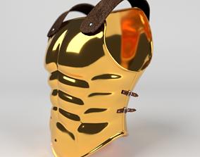3D medieval Greek Armor