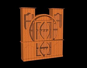 Cabinet 3D model VR / AR ready cabinets