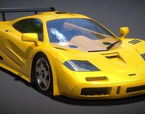 3d Auto McLaren F1 3D Model game-ready
