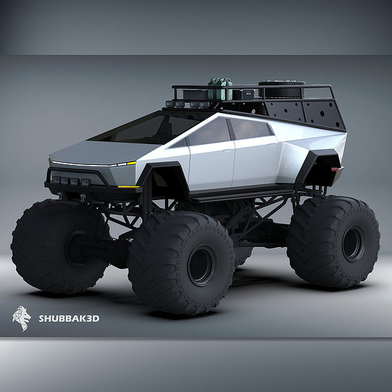 Tesla CyberTruck Monster Edition