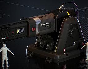 Laser Turret - ASURA 3D model