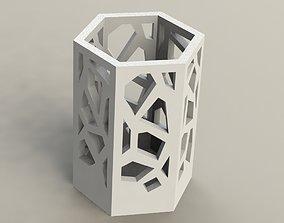 3D print model Crystal Pen Holder 2