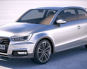 3D model Audi A1 Active 2017