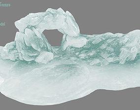 Ice Cave 3D model VR / AR ready