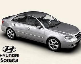 3D model Hyundai Sonata
