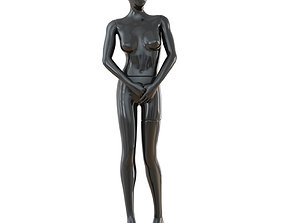 Female Black Mannequin 46 3D