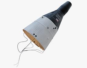 3D model Gemini Capsule