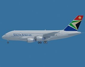 South African Boeing 747 3D