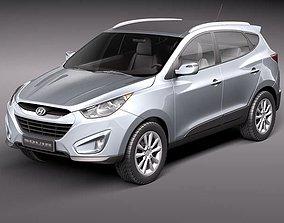 Hyundai Tucson 2011 3D