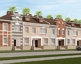 Classical Townhouse 2 3D model