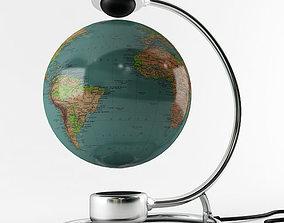 3D model ocean Magnetic Globe