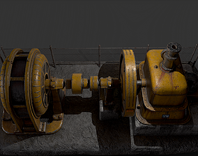 Water generator - game props 3D model