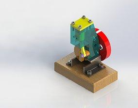 3D Pneumatic-Motor-Assembly