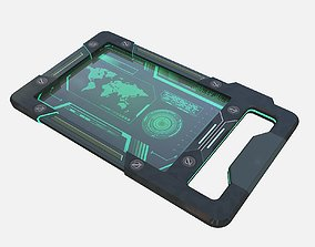 3D SCI FI TABLET PC PBR