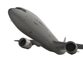 3D model Boeing 777-200LR generic livery