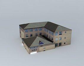 3D model Castle House Huddersfield