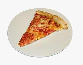 Pizza slice 3D asset