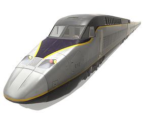 Express Train 3D model