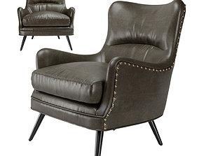 Arteriors Seger Chair 3D model