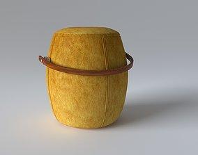 pouf for the hallway 3D model