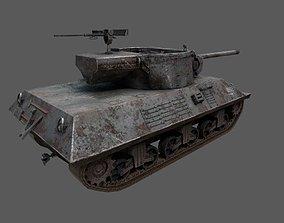 3D model US Tank Destroyer M36 Jackson