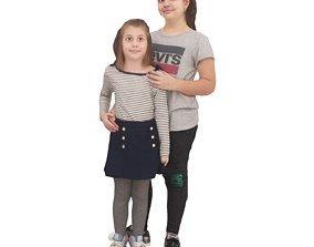 3D model No399 - Sister Duo