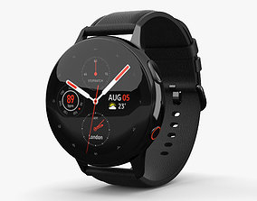 Samsung Galaxy Watch Active 2 44mm Stainless 3D model 1