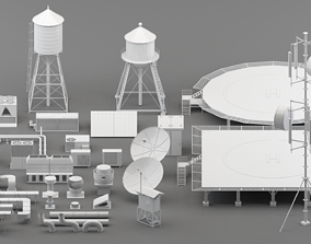 3D asset realtime rooftop parts