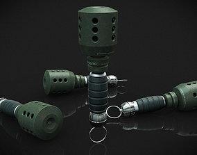 3D printable model Grenade sci-fi