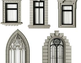 3D Classic frame window