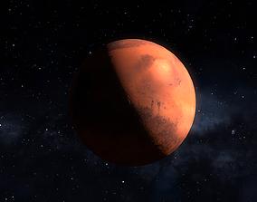 Planet Mars 3D asset