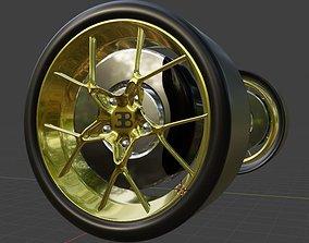 Bugatti chiron 3D model rigged buggati