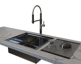 Sink Franke CEX 210 and faucet Franke Pescara 360 3D