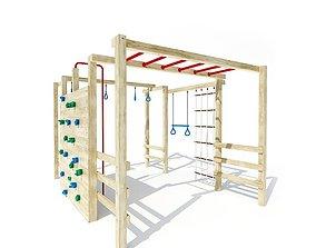 Kids Playground Jungle Gym 3D