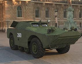 BRDM-1 Armoured vehicle 3D