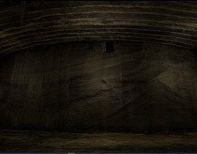 3D asset Old Concrete Wall 01 13 D