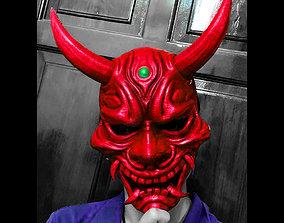 3D print model Hannya Mask -Satan Mask - Demon Mask for