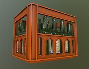 Box of Vodka 3D model