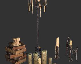 3D Creepy candles