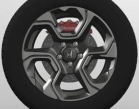 Honda Wheel 3D