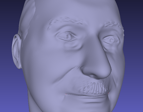 3D printable model Ludwig Von Mises bust
