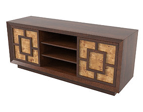 3D model Lexington Allison Entertainment Console 458-907 2