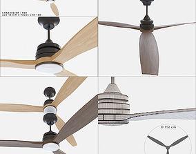 Ceiling fan Faro Barcelona ALO 152CM 3D model