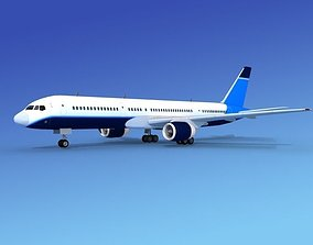 Boeing 757-200 Corporate 6 3D